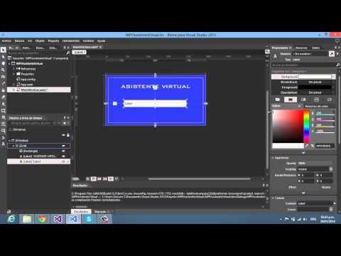 Crear tu Asistente Virtual para PC en C# WPF parte 1