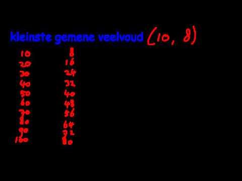 Kleinste Gemene Veelvoud from YouTube · Duration:  2 minutes 45 seconds
