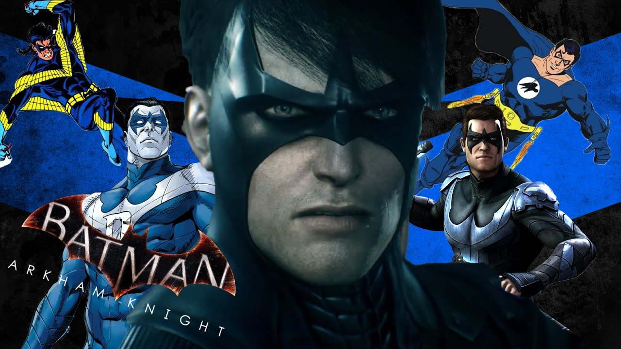 Batman: Arkham Knight | Nightwing Skin Ideas - YouTube