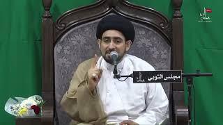 السيد حسن الخباز - الفائدة من عدم ذكر القرآن الكريم لأسماء الأئمة عليهم السلام