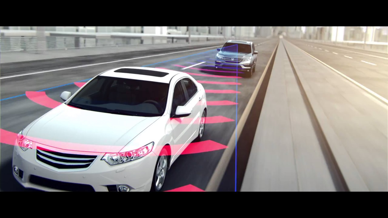 Honda Pilot 2017_Forward Collision Warning FCW system