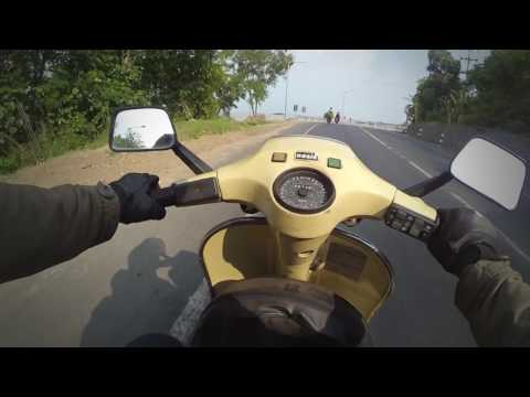 Vespa Riding Jakarta Surabaya To See My Mom