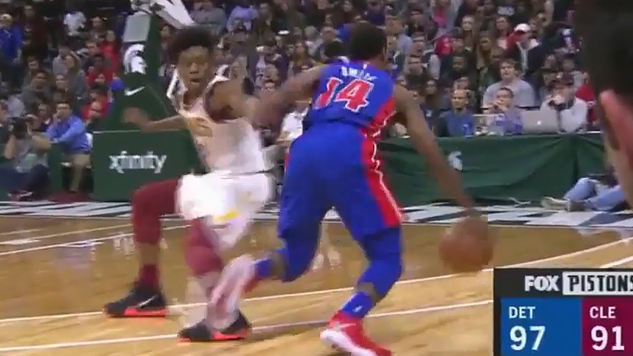 collin-sexton-gets-ankles-destroyed-by-iish-smith-s-crossovers-cavaliers-vs-pistons
