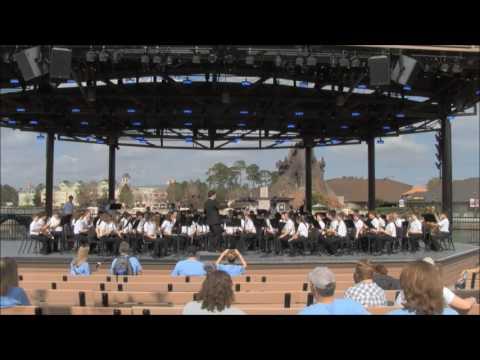 Dodgen Band Disney Performance 2017