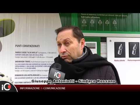 Rossano, inaugurato eco-compattatore in piazza Europa