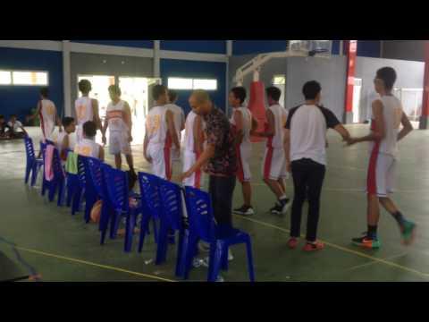 Perbasi Cup 2017 Balikpapan - Semifinal : KU18 - Total vs Bluesky (last 8 mins)