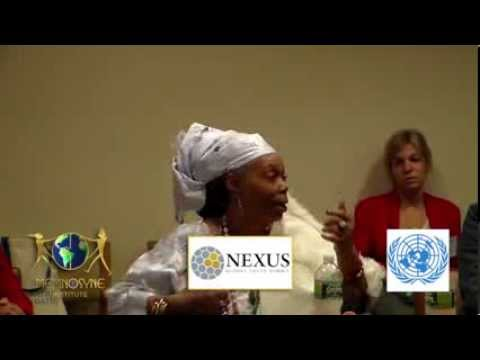 "United Nations NEXUS Summit - ""Working with Indigenous Cultures"" presented by Memnosyne Institute"
