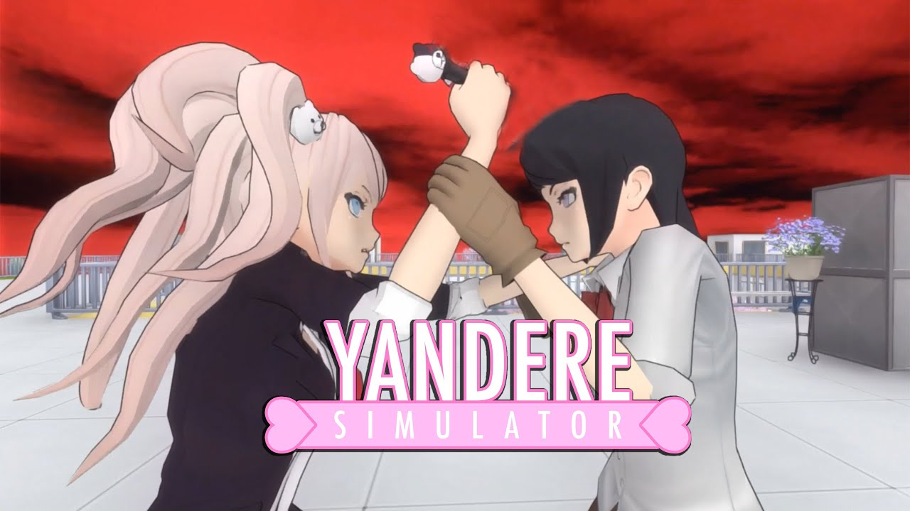 Play As Junko Enoshima From Danganronpa | Yandere Simulator