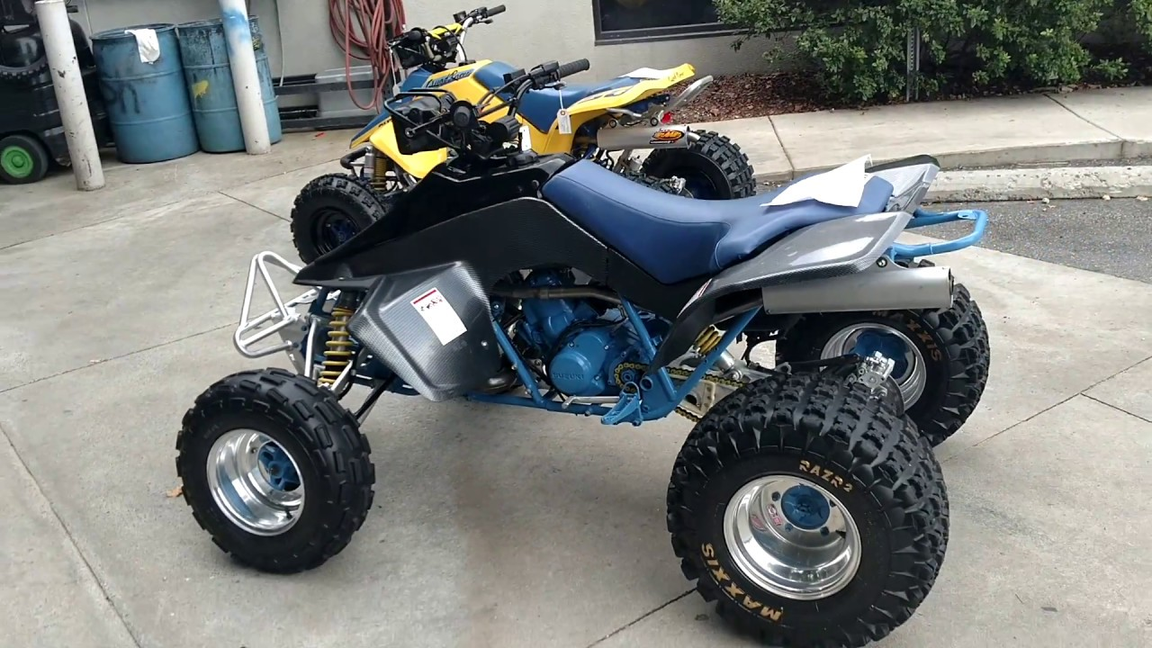 medium resolution of 1987 suzuki quadzilla 500 atv four wheeler