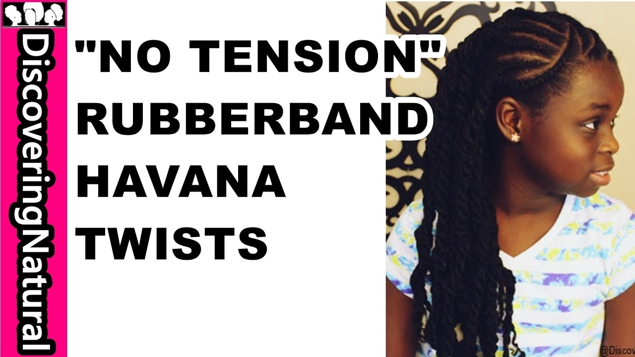 Twists Protective Style | Natural Hair | Kinky Tresses - YouTube