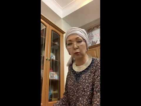 Саламат Садыкова жандуу ун менен комуз чертип ырдап берди!