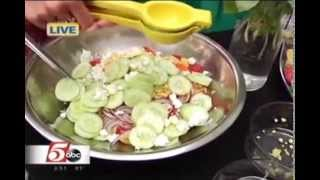Summer Salad for Your Patio Parties (8/7/14 on KSTP's Twin Cities Live)