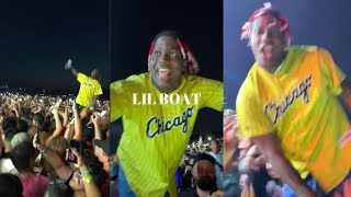 Lyrical Lemonade Summer Smash 2019 - Lil Yachty in Crowd for Playboi Carti Performance