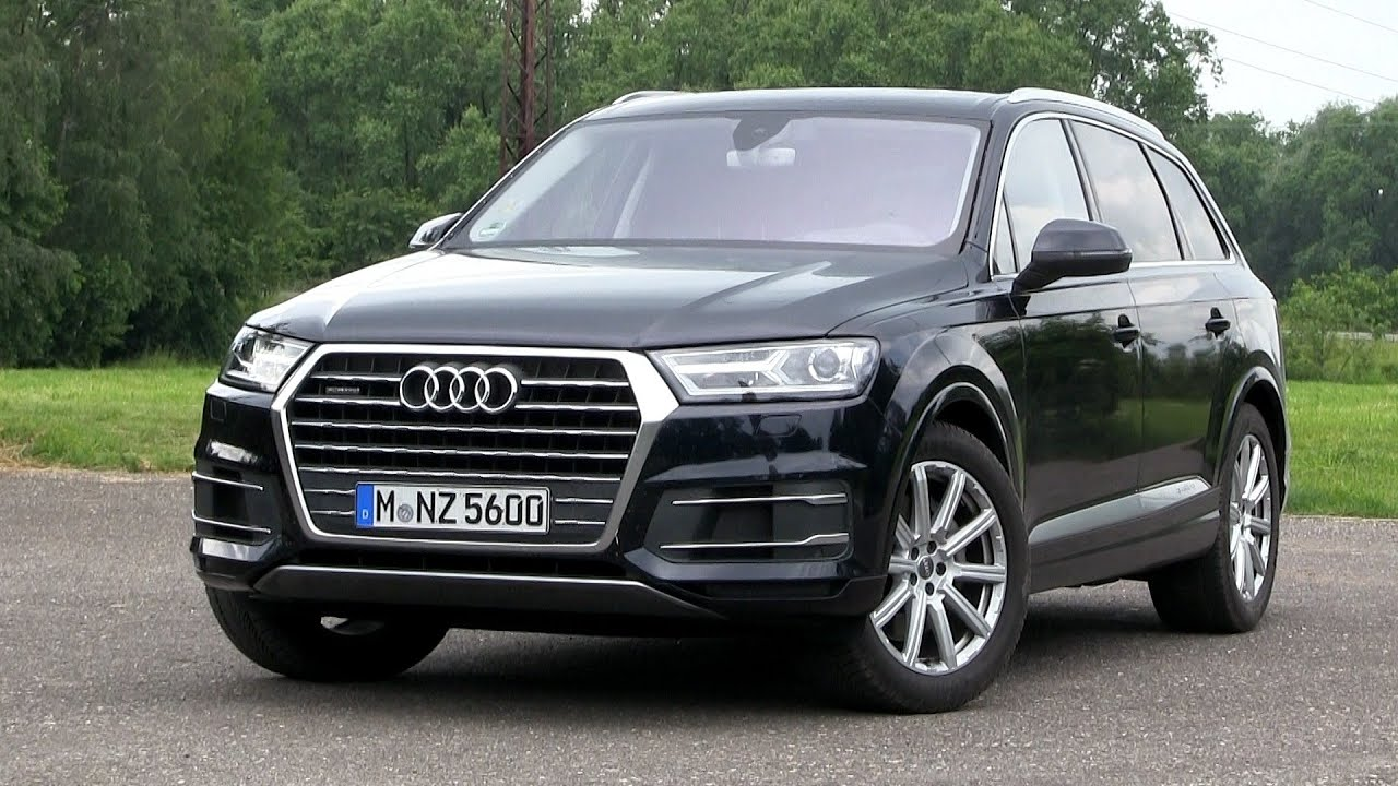 2016 audi q7 3 0 tdi quattro 272 hp test drive youtube. Black Bedroom Furniture Sets. Home Design Ideas