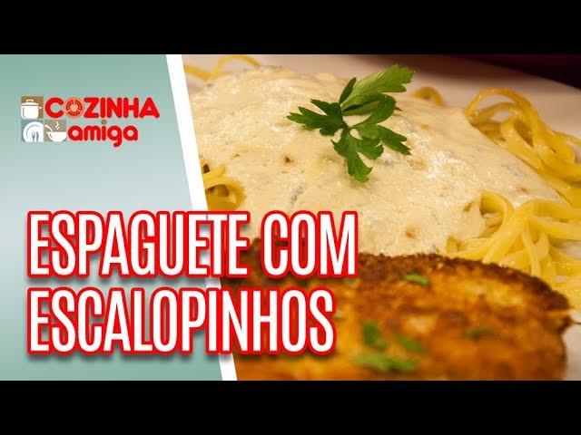 Espaguete ao Molho com Escalopes Crocantes - Gabriel Barone | Cozinha Amiga (12/03/19)