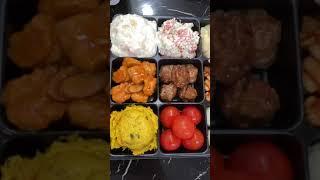 미스터피자와 샐러드 영상