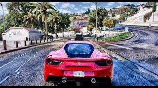 ► GTA 6 Graphics 60FPS - Best Supercars Gameplay 2! ✪ NVR & REDUX | GTA V Ultra Graphics MOD