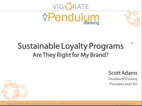 Sustainable Loyalty Programs | Demonstrate Webinar