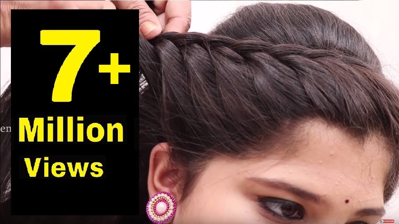 Easy Hair Style For Long Hair Puff Hair Style Ladies Hair