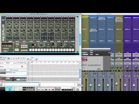 Reason 5 Tutorial - Using Samples in Redrum