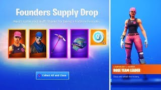 "How to Unlock FREE ""FOUNDERS REWARDS"" in Fortnite (FOUNDERS SKIN BUNDLE)"
