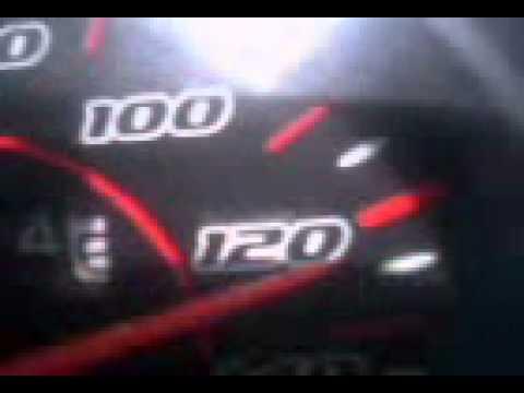 honda wave 100r topspeed (stock) - YouTube