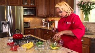 Chef Hudas Black Bean and Corn Salad