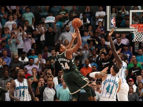 Bucks - Bucks top Hornets 113-112 behind Giannis Antetokounmpo's 25 points