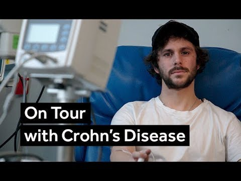 On Tour with Crohn's Disease | BBC Newsbeat