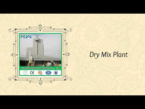 Dry Mortar Plant Manufacturer in china | Shanghai Newwall Machinery