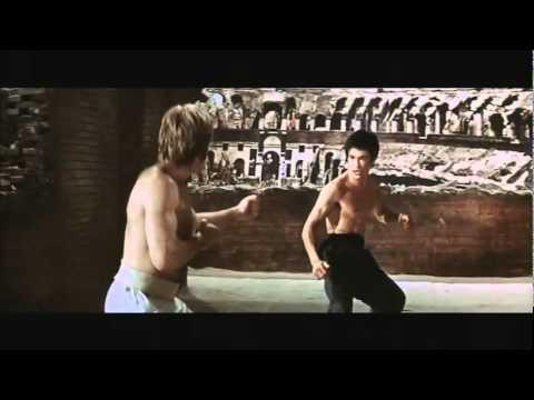 Bruce lee vs Chuck norris [ Pelea Completa ]
