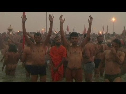 Hindu festival: Millions