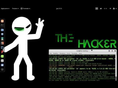 Kali Live Hacking 2017 ITA 4 sqlmap