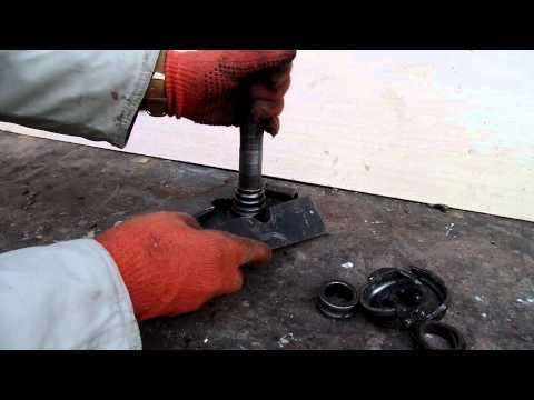 ремонт передних подшипников ступицы шевроле нива