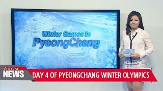 Day 4 of PyeongChang Winter Olympics