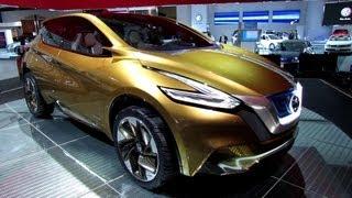Nissan Resonance Concept 2013 Videos