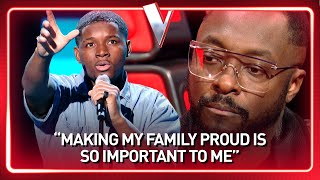 17-Year-Old RAPPER steals will.i.am's heart in The Voice | Journey #123