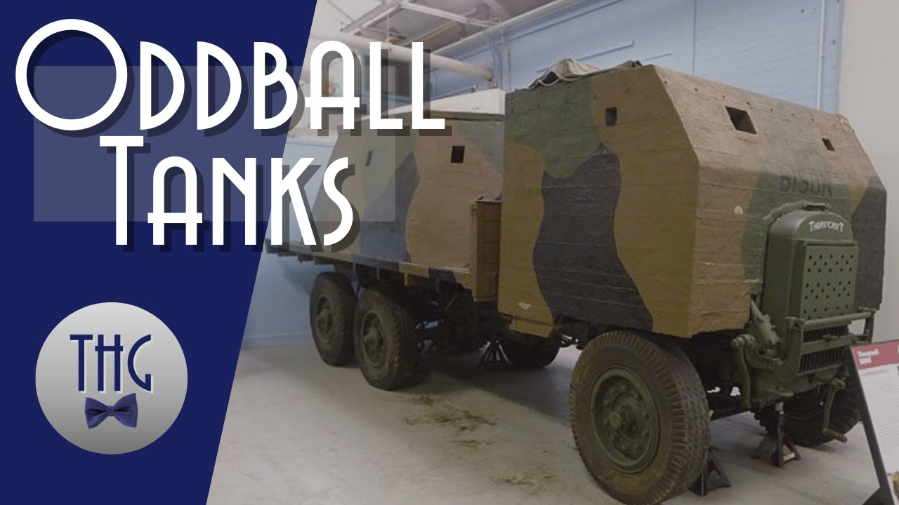 Oddball Tanks: Extemporized Armored Fighting Vehicles