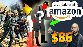 """We made a """"Winter WW1 German Uniform"""" from Amazon for $86"""