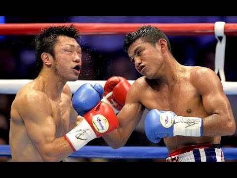 Roman Gonzalez vs Akira Yaegashi - Highlights (Chocolatito KNOCKS OUT Yaegashi)