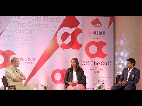 Off The Cuff with PV Sindhu And Pullela Gopichand