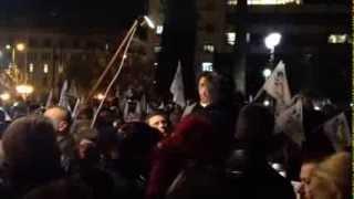 Νίκος Νικολόπουλος - Συγκέντρωση Αθήνα, ανακοίνωση υποψηφιότητας για Περ. Αττικής - 27 Ιαν 2014
