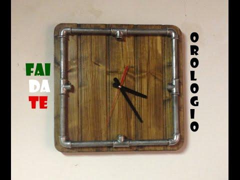 Fai da te orologio da parete 39 39 steampunk style 39 39 diy for Orologio fai da te