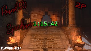 Altar of Blood Round 30 & 50 Speedrun 2P 31:35 & 1:15:42