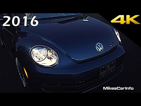 2016 Volkswagen Beetle AT NIGHT Interior and Exterior in 4K