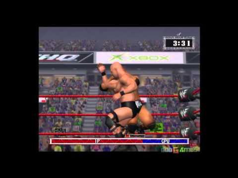 WWF Raw - Gameplay Xbox HD 720P