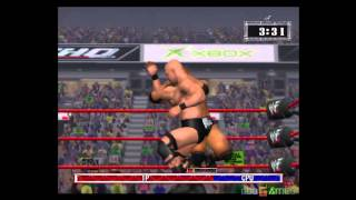WWF Raw - Gameplay Xbox HD 720P