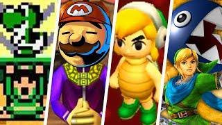 Evolution of Super Mario Easter Eggs in Zelda Games (1986 - 2019)