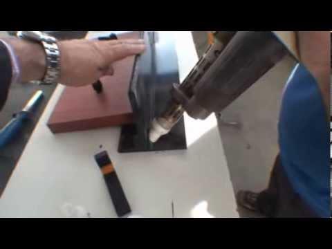 Mini extrusora: Máquina extrusora para soldadura de polietileno, polipropileno, PVDF y PVC