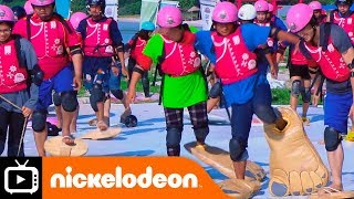 Watch as these contestants take on the frenzied footloose challenge...
